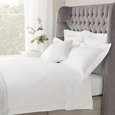 Luxury 1000 Thread Count Plain Pure 100% Egyptian Cotton Bedding - White & Cream