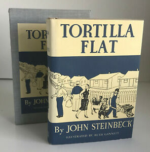 Tortilla Flat, by John Steinbeck~BEST Facsimile of 1935 First Edition