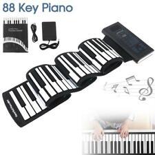 Roll Up Piano Standard 88 Keys Foldable Flexible Soft Electric Digital Keyboard