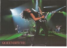 QUEENSRYCHE 'stage guitar'  magazine PHOTO/Poster/clipping 11x8 inches