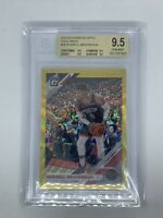 2019 Optic Russell Westbrook Gold Wave BGS 9.5 True Gem 1st Year Rockets POP 1