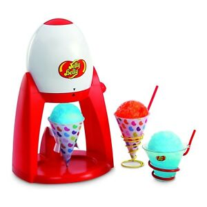 Jelly Belly Electric Snow Cone Maker Ice Shaver Machine Brand New