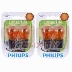 2 pc Philips Parking Light Bulbs for Lincoln Continental LS Mark VIII MKS pa