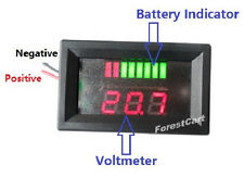 48volt Acid Lead Battery Indicator + Voltmeter,EZGO Club Car Yamaha Charge Meter