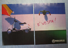 MOTOSPRINT989-PUBBLICITA'/ADVERTISING-1989- VESPA 50 PIAGGIO