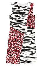 Hugo BOSS Diseba Animal Print Sheath Dress size 10 NEW