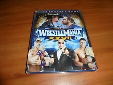 WWE: Wrestlemania XXVII (Blu-ray Disc, 2011, 2-Disc Collectors Edition) Used 27