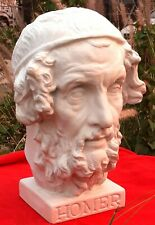 Sculpture Statue Ornament Home Decor Figurine Homer Greek Italian Bust 40cm