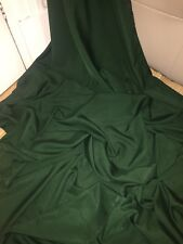 "1 MTR DARK GREEN 100% POLYESTER LINING FABRIC...45"" WIDE"