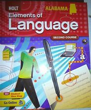 Elements of Language Alabama Student Ed 2nd Course Gr 8 2009  9780554019642