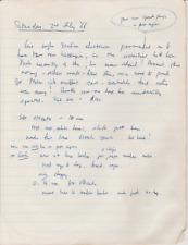 Mathematical Calculations Handwritten by Francis Crick - DNA Co-Discoverer w COA