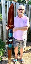 """New listing Vintage 67"""" Mahogany Connelly Hook Water Ski"""