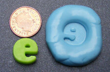 """Reusable Letter """"E"""" Silicone Food Safe Mould, Mold, Sugarcraft, Jewellery, Cake"""