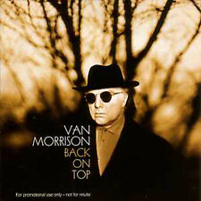 CD Single Van MORRISON Back on top Promo 1-Track CARD SLEEVE