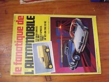 $$$ Revue Fanatique Automobile Fanauto N°174 57c vs Cord 812  635 CSi  Alpina B9