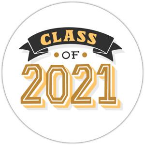 70 Class of 2021 Graduation Teacher unique NON personalised labels stickers
