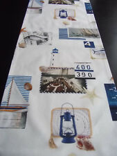 TL Seaside Impressionen Möwe Anker Muschel 168x40 Leuchtturm Maritim Segeln Meer