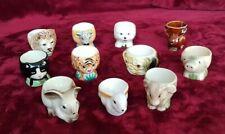 Job Lot Bundle Vintage Animals Egg Cups Christmas Presents eggcup xmas.