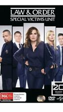 Law And Order Special Victims Unit SVU Season 20 BRAND NEW Region 4 DVD