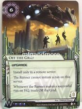 Android Netrunner LCG - 1x Off the Grid  #038 - Overdrive Corporation Draft Pack