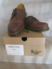 DR. MARTENS SHOES UNISEX  BROWN IN COLOUR LACE UP NEW WITH BOX SIZE 8 UK