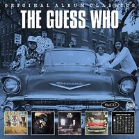 THE GUESS WHO - ORIGINAL ALBUM CLASSICS  5 CD NEUF