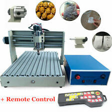 New listing Usb 4 Axis 3040 Cnc Router Engraver 3D Pcb Engraving Drilling Machine 400W + Rc