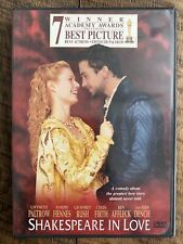 Shakespeare in Love (Dvd, 1999) Like New