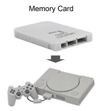 Memory Card For Playstation 1 One PS1 PSX Game useful practical Affordable &L