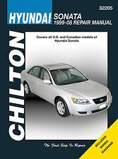 Repair Manual Chilton 32205 fits 99-14 Hyundai Sonata