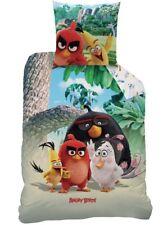 Angry Birds Palm Beach Bettwäsche Biber 80 x 80 cm + 135 x 200 cm Flanell 44137