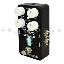 Electro-Harmonix Oceans 11 Reverb Guitar Pedal.  Compact with 11 Reverb Styles G