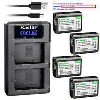 Kastar LCD Dual Charger Battery for Genuine Sony NP-FW50 & Original Sony BC-VW1