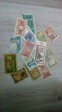 Lot 14 Billets de Banque du Monde