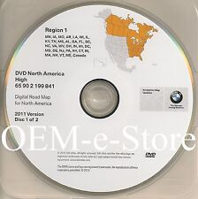 2004 to 2008 BMW 745i 750i 750Li 760i 760Li Navigation DVD EAST Coast Map Update