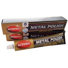 2er Sparpack 75ml Autosol Metal Polish Chromglanzpolitur Chrom-Politur Paste