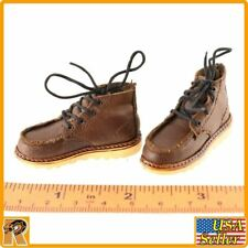 Van Ness GK - Brown Work Boots - 1/6 Scale - Damtoys Action Figures