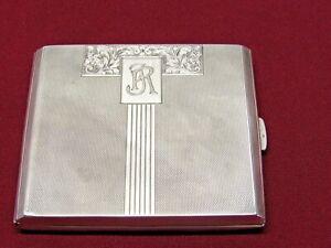 Zigarettenenetui aus 900 er Silber - Zigarren - Etui - Wehrführer 1937