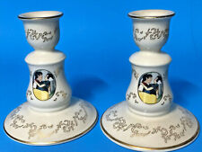 Lenox Disney Snow White Candlesticks with original box