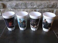 Canadian Indiana Jones Last Crusade plastic cup set Very Rare Pepsi