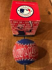 1993 TEXAS RANGERS Spinneybeck Leather Baseball MLB NEW IN BOX