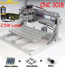 3018 Cnc Router Kit Amp 25w Laser Moudle Wood Engraving Carving Pcb Wood Machine