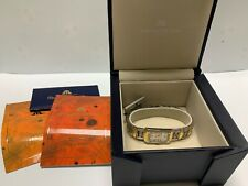 New Maurice Lacroix MI2021 Gold Plated Stainless Steel Ladies Box & Papers Thin
