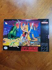 Dragon's Lair (Super Nintendo Entertainment System, 1993) Box-NO Game! EXCELLENT