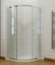 Offset Quadrant Shower Enclosure Sliding Glass Door Corner Room No tray 900mm