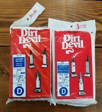 GENUINE Dirt Devil Vacuum Bags Royal Type D - 7 TOTAL!!!