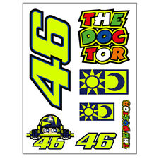 VR46 Valentino Rossi Moto GP Sticker 46 For Bike Motorcycle/Motorbike - 356703