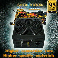 2000W Modular Power Supply for ETH Rig Ethereum Coin Mining PC 8 Graphics Cards