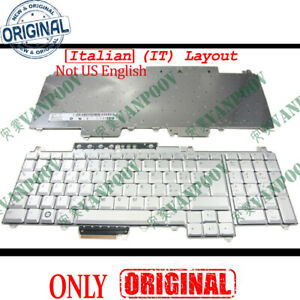 NEW IT Keyboard for Dell Inspiron 1720 1721 Vostro 1700 XPS M1730 Silver Italian