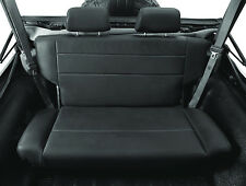 Bestop 39440-01 Black TrailMax II Vinyl Fold And Tumble Rear Bench Seat